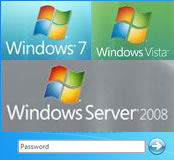 Logo image for resetting forgotten passwords for Windows Vista, 7 and 2008 Server