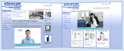 Softwater Website Screenshot