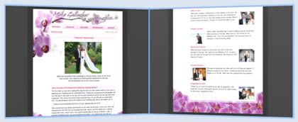 Weddingbliss Website Screenshot